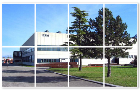 External view of STM Srl