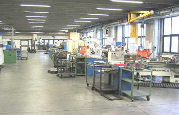 Tool and die shop for construction and maintenance of the forging dies