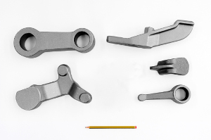 Flanges, levers, connecting rods, supports, hooks and more
